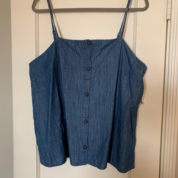 Old Navy Tops - NWT Old Navy Button Tank